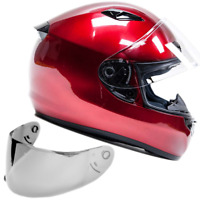 SNELL M2015 Helmet Adult Full Face Motorcycle Helmet Red