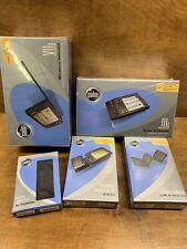 Factory Sealed Palm Iiic Pda Folding Keyboard Viix Wireless Internet + Modem Kit