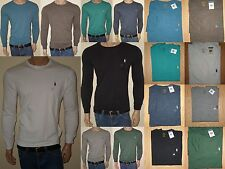 MEN POLO RALPH LAUREN T-SHIRT LONG SLEEVES  STANDARD FIT S,M,L,XL,XXL NWT