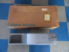 NOS GM 1988-1993 Grand Prix Regal Cutlass Monte Carlo Rear Console - Slate Gray