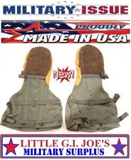 NEW Mil. Issue N-4B Arctic Extreme Cold Military Mittens / Liners Flyers Gloves