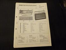 Original Service Manual SABA Transeuropa2000 Automatic