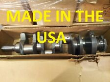 New MADE IN USA OEM AM General  6.2 Diesel Crankshafts No core Chevy GMC Crank