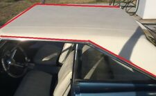 66 67 Plymouth Satellite Belvedere GTX Coronet WHITE Levant Vinyl Top Mopar