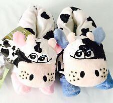 NEW Crazy Cow NOVELTY Girls SLIPPERS size 10 UK SELLER