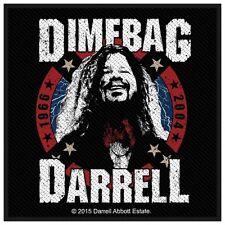PANTERA-Patch ricamate-Dimebag Darrell 1966-2004 10x10cm