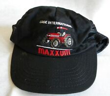Great J.I. Case International Maxxum hat black with red tractor
