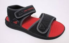 New Balance Boy's Water Sandals Black/Grey/Red US 13 NOB Sample