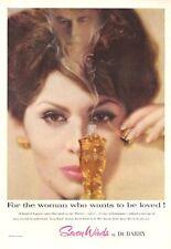 1959 DuBarry PRINT AD Seven Winds Perfume Vintage Bottle
