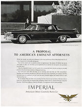 Vintage 1963 Magazine Ad Chrysler A Proposal to Americas Eminent Attorneys