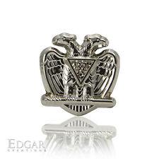 32nd Degree Scottish Rite Lapel Pin [Silver Grau32™ by Edgar Creations]