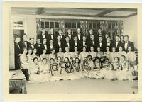 Vintage Photo - Wooster College, 1931 - Group of Young Men / Women - All Id'd