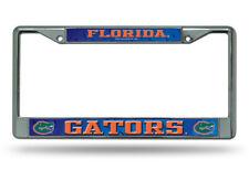Florida Gators Metal Chrome License Plate Frame Auto Truck Car NCAA