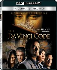 The Da Vinci Code 4K UltraHd Blu-Ray New Tom Hanks
