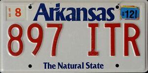 USA Number Licence Plate ARKANSAS