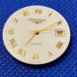Original LONGINES L.156.1 Quartz movement eta 255.411 running & Dial (1/5243)