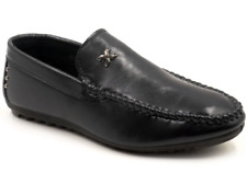 Tanggo Fashion Leather Shoes Formal Black Shoes for Men F21 (Black)