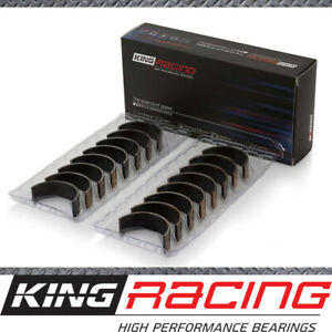 King Racing STDX Set of 4 Conrod Bearings suits Ford Mazda BP (DOHC 16 Valve)