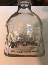 Antique CUTTER LABORATORIES Clear Glass Medicine Infusion Bottle Markings 500cc