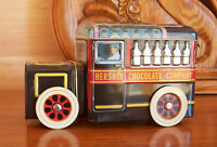 HERSHEY'S VEHICLE SERIES CANISTER #1 MILK TRUCK Hershey Chocolate Company Tin