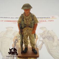 Figurine Del Prado plomb Commando Britannique en Sicile 1943 Lead Soldier