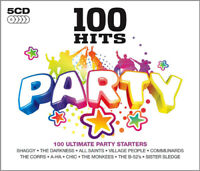 Various Artists : 100 Hits: Party CD 5 discs (2012) Expertly Refurbished Product