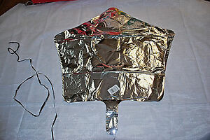 "Mylar 19"" Balloon  Anagram Silver Star Shape Foil   Lot of 10  S6049"