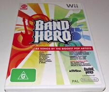 Band Hero Nintendo Wii PAL *Complete*