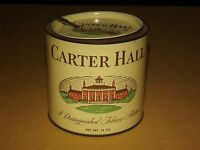 VINTAGE PIPE CARTER HALL    SMOKING  TOBACCO MIXTURE TIN CAN