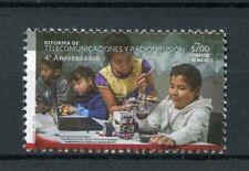 Mexico 2017 MNH Telecoms & Broadcasting Reform 1v Set Communication Stamps