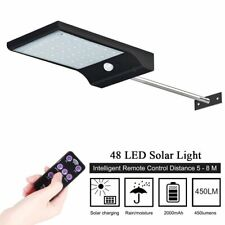 outdoor hanging 48led solar garden stake power bright flood path pathway lights