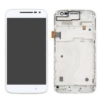For Motorola Moto G4 Play XT1601 LCD display Screen Digitizer Frame Replacement