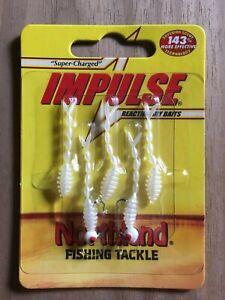 Northland Fishing Tackle - Impulse® Rigged Skeleton Minnow - White