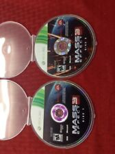Mass Effect 3 (Microsoft Xbox 360, 2012) DISCS ONLY!  TESTED. No box cover art.