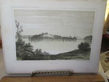 Vintage Print,LAKE JESSIE,Exploration Mississippi R.to Pacific,1853-55