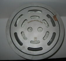 "Stainless Industrial Sanitary Drain Round 11 3/4"" Across with Sediment Basket"