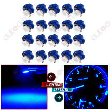 20Pcs B8.4D 5050 Smd Led Blue Dash Cluster Gauge Instrument Light Bulb For Ford (Fits: Ford Tempo)