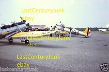 35mm Slide Of A Air Show PT 22's At 1979 EAA Brookhaven