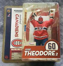MCFARLANE NHL SERIES 10 JOSE THEODORE 2 MONTREAL CANADIENS CHASE VARIANT FIGURE