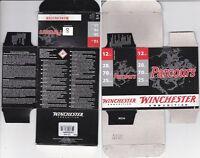 1295) WINCHESTER PARCOURS 12g 70mm 28gr No 8 MT SHOTSHELL BOX