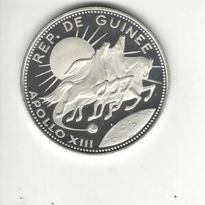 Guinea 250 Francs 1970, 10th Anniversary of Independence, Silver Proof,