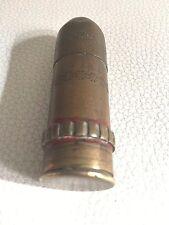 accendino trincea bossolo trench art 1ww 1wk rare brass petrol lighter bullet