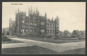 Postcard Toddington Manor nr Winchcombe Gloucestershire owned by Damien Hirst #1