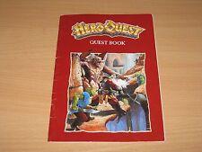 Hero Quest-Quest libro para kellars mantener juego de mesa en muy buena condición