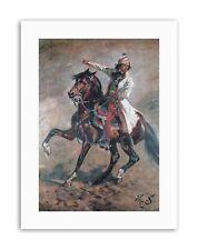 KOSSAK GENERAL TADEUSZ KOSCIUSZKO Painting Portrait Canvas art Prints