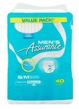 S-M Adult Disposable Diapers For Men Overnight Incontinence Underwear Briefs