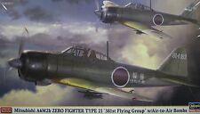 1/48 Mitsubishi A6M2b Zero Fighter Type 21 ( 381st Flying Group ) by Hasegawa