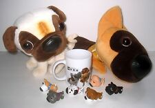 Artist Collection The Dog MIXED LOT Plush / Miniatures / Coffee Mug