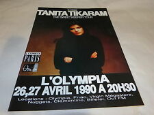 TANITA TIKARAM - Publicité de magazine / Advert !!! THE SWEET KEEPER TOUR !!!