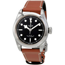 Tudor Heritage Black Bay Automatic Mens Brown Leather Watch 79540-0003